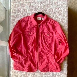 Chico's Coral Pink Jacket